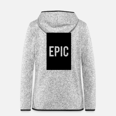 Clan one epic kid - Women's Hooded Fleece Jacket