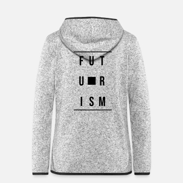 Future futurism - Women's Hooded Fleece Jacket