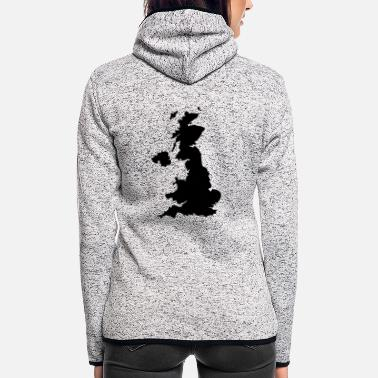 United United Kingdom - Women's Hooded Fleece Jacket
