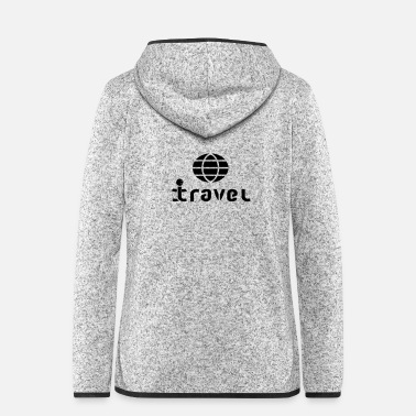 Primal travel - Women's Hooded Fleece Jacket