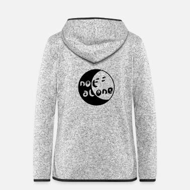 Primal alone - Women's Hooded Fleece Jacket