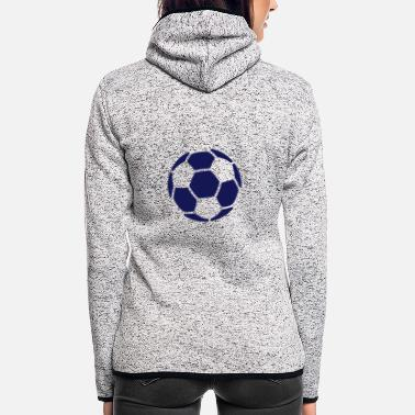 Soccer Soccer - Women's Hooded Fleece Jacket
