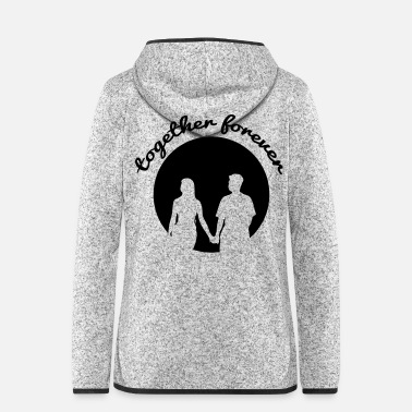 Together together forever - Women's Hooded Fleece Jacket