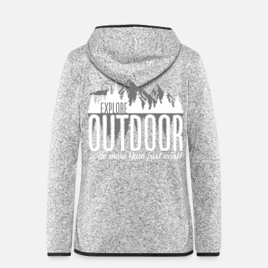 Outdoor Explore Outdoor - Frauen Fleece Kapuzenjacke