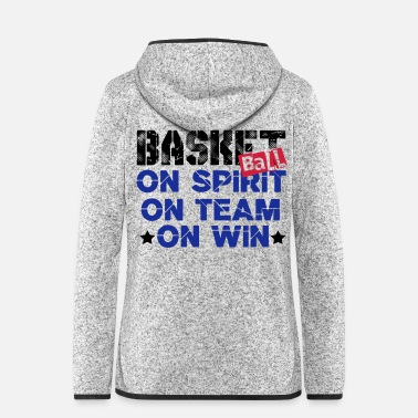 Basket basket - Women's Hooded Fleece Jacket