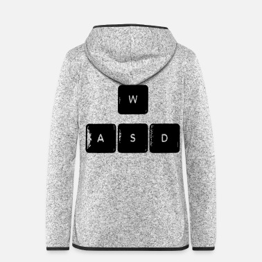 Wasd WASD - Women's Hooded Fleece Jacket