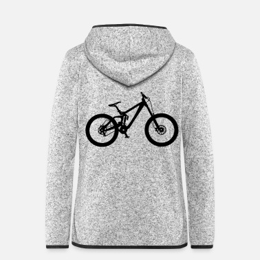Downhill downhill - Women's Hooded Fleece Jacket