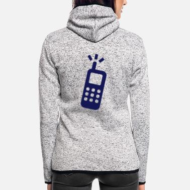 Phone phone - Women's Hooded Fleece Jacket