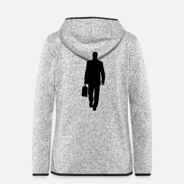 Man man - Women's Hooded Fleece Jacket