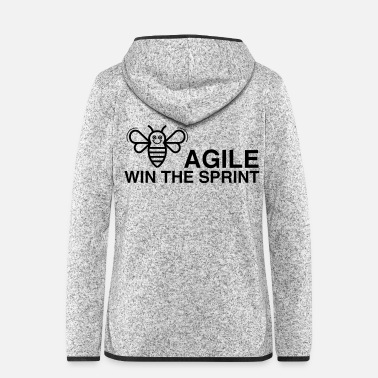 Sprint BE AGILE WIN DE SPRINT - Vrouwen fleece jack