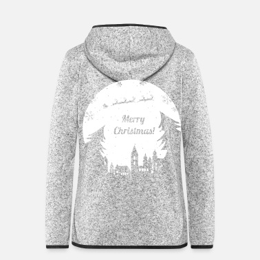 Christmas Merry Christmas Xmas Christmas Advent - Women's Hooded Fleece Jacket