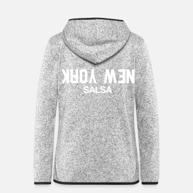 Stylish New York Salsa - Stylish Dance Shirt - Frauen Fleece Kapuzenjacke