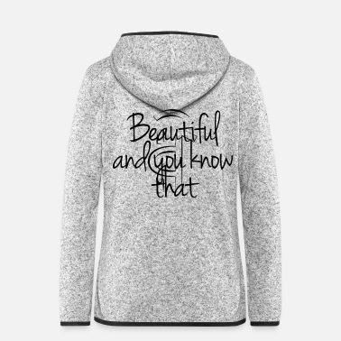 Rasta 4 Beautiful and you know that - Frauen Fleece Kapuzenjacke