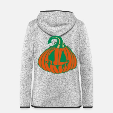 Pumpkin Pumpkin Halloween - Women's Hooded Fleece Jacket