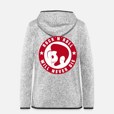 Rock N Roll Rock and roll gekleurd - Vrouwen fleece jack