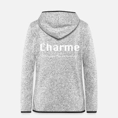 Satyr Charme - A cheese from France. - Women's Hooded Fleece Jacket