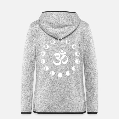 Om 065 - Om - Frauen Fleece Kapuzenjacke