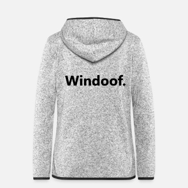 Windows Windows - Frauen Fleece Kapuzenjacke