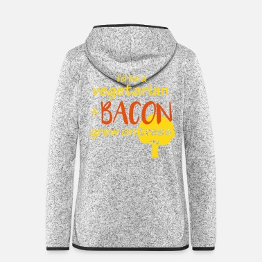 Speck Bacon Lovers - Frauen Fleece Kapuzenjacke