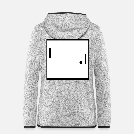 Birthday Jackets & Vests - pong gaming cult gift birthday - Women's Hooded Fleece Jacket light heather grey