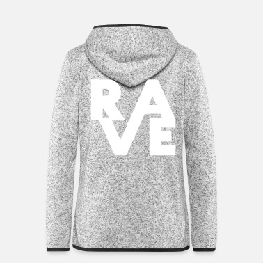 RAVE - Women's Hooded Fleece Jacket