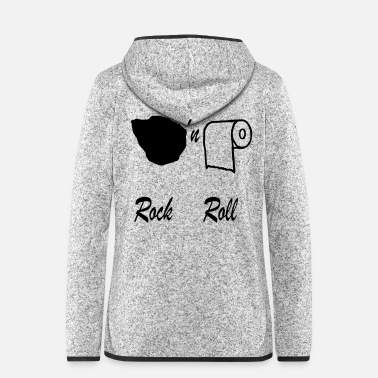 Rockabilly Idea regalo Rock n roll - Giacca di pile con cappuccio da donna