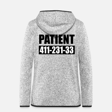 Genius Patient 666 - Frauen Fleece Kapuzenjacke