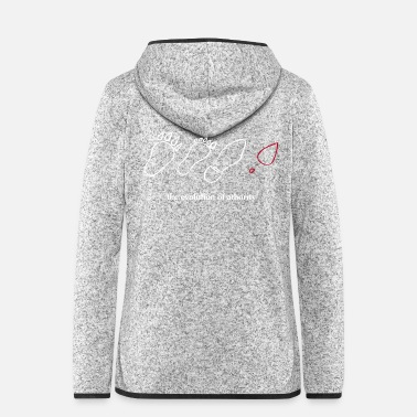 Evolution the evolution of athority - Women's Hooded Fleece Jacket
