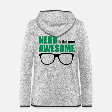 Genius Nerd is the new awesome - Genius / IQ / Autism - Frauen Fleece Kapuzenjacke