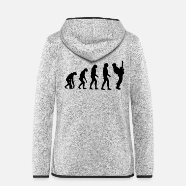 Evolution Evolution guitar - Women's Hooded Fleece Jacket