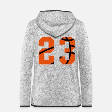 Offensive Basketball - Frauen Fleece Kapuzenjacke
