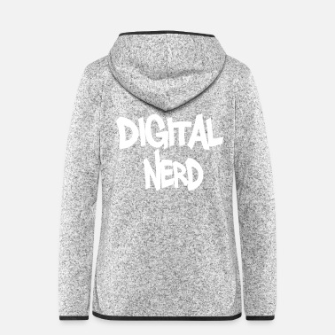 Nerd Digitale nerd - Vrouwen fleece jack