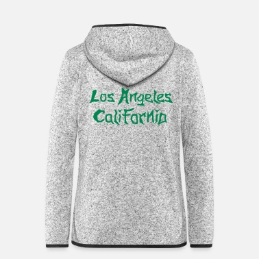 Los Angeles Los Angeles California - Frauen Fleece Kapuzenjacke