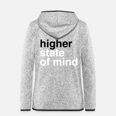 Rasta higher state of mind - Frauen Fleece Kapuzenjacke