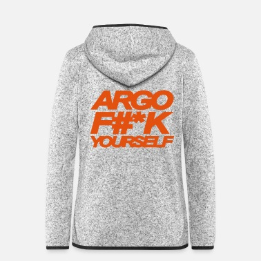 Los Angeles ARGO FICK DICH - Frauen Fleece Kapuzenjacke