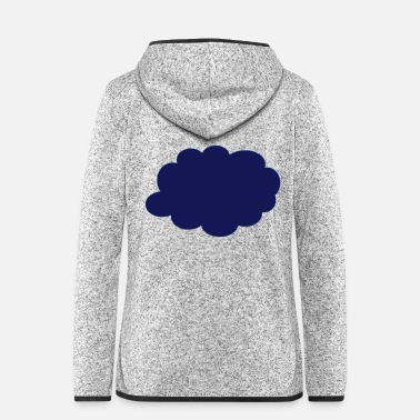 Cloud cloud - Women's Hooded Fleece Jacket