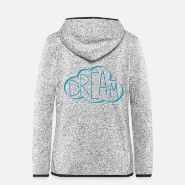 Cloud Cloud Dream - Women's Hooded Fleece Jacket