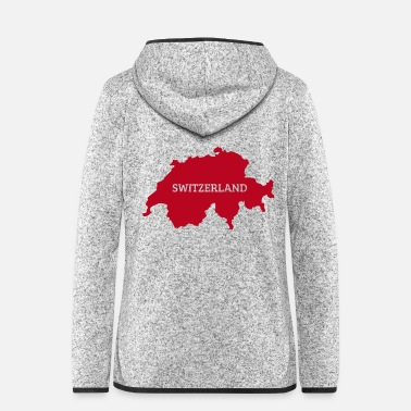 switzerland - Women's Hooded Fleece Jacket