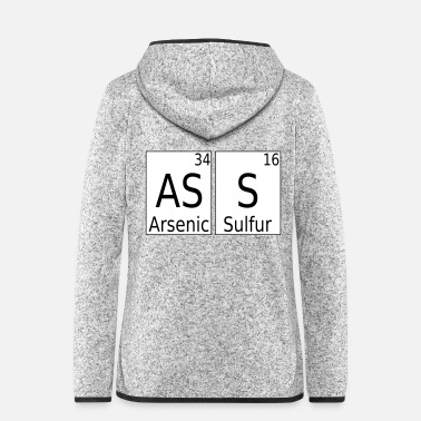 Uni Ace or even po chemistry periodic table gift - Women's Hooded Fleece Jacket