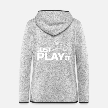 Freak Gamer motivation gambling controller console - Women's Hooded Fleece Jacket