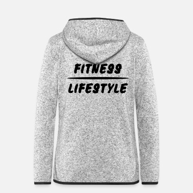 Fitness Fitness Lifestyle Gym Workout - Vrouwen hoodie fleecejack