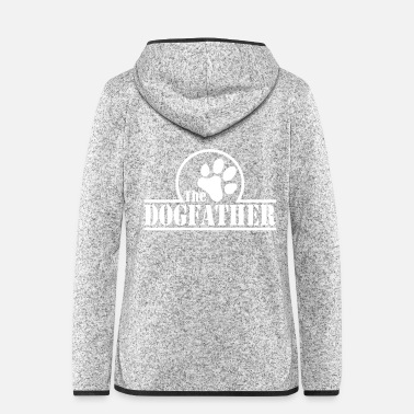 Supergeil The Dogfather - Frauen Fleece Kapuzenjacke