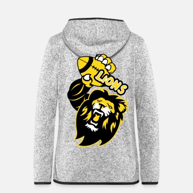 Rugby Lions Rugby - Women's Hooded Fleece Jacket