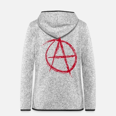 Revolution Anarchie A Anti Antikapitalista Revolte Revolution - Frauen Fleece Kapuzenjacke