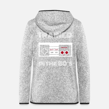 Karriere NES 80's - Frauen Fleece Kapuzenjacke