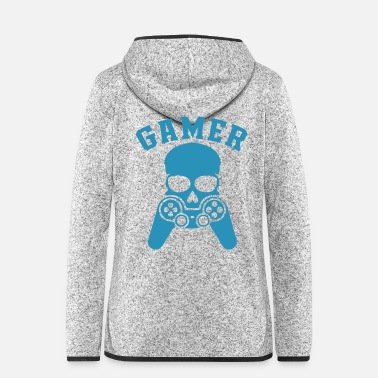 Anonymous Gamer T-shirt - Veste à capuche polaire Femme