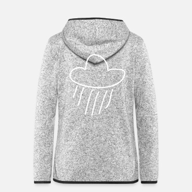 Cloud rain cloud - Women's Hooded Fleece Jacket