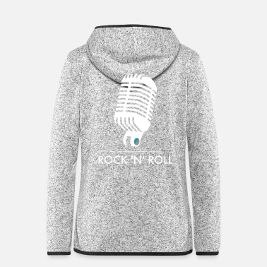 Rock N Roll Old School Mic - Rock 'n' Roll - Vrouwen fleece jack