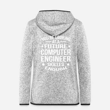 Computer Computer Engineer - Frauen Fleece Kapuzenjacke