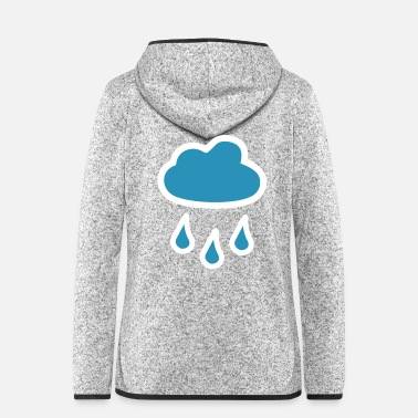 Cloud Cloud of rain - Women's Hooded Fleece Jacket